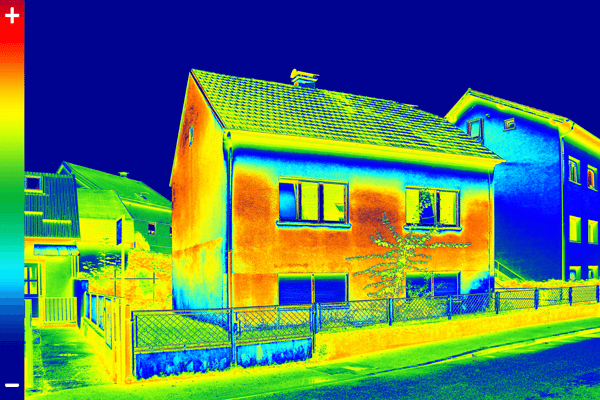 thermal imaging report on home