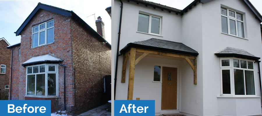 Superior A Home Withe External Wall Insulation
