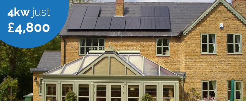 4kW solar PV system