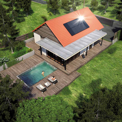Solar Aerovoltaic panel