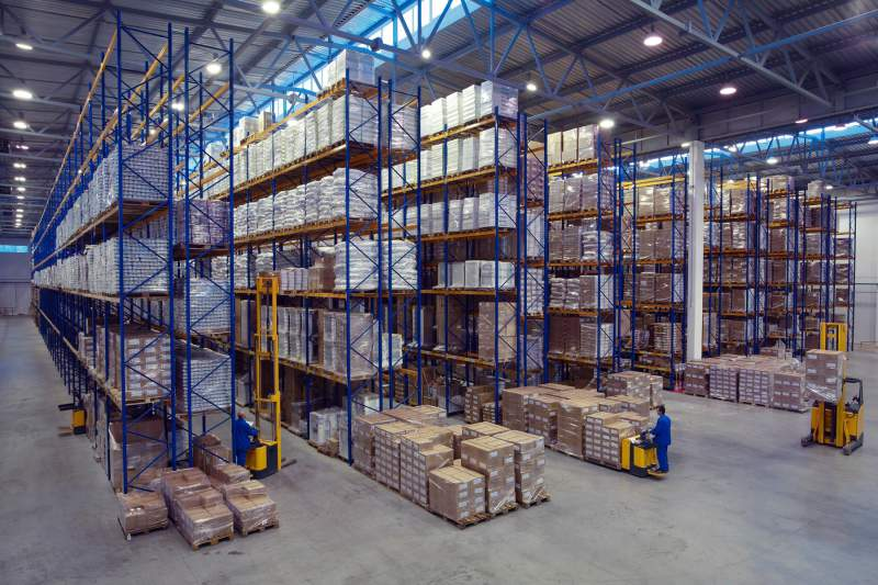 Large warehouse that can use Infrared heaters.