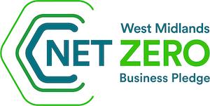 West Midlands Net Zero business pledge logo