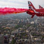 Warm welcome to the Red Arrows plan to go green