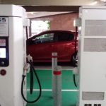 Fitting electric car chargers to new homes 'a powerful idea'